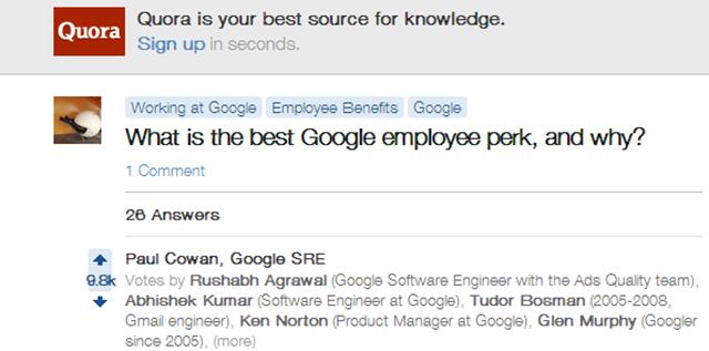 盘点:谷歌逆天福利是真的吗?